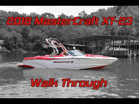 2018 MasterCraft XT-23 Walk Through