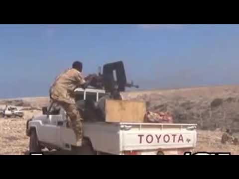 Dagaal culus oo gobolka Sool ku dhexmaray Puntland iyo Somaliland iyo baabuur la gubay