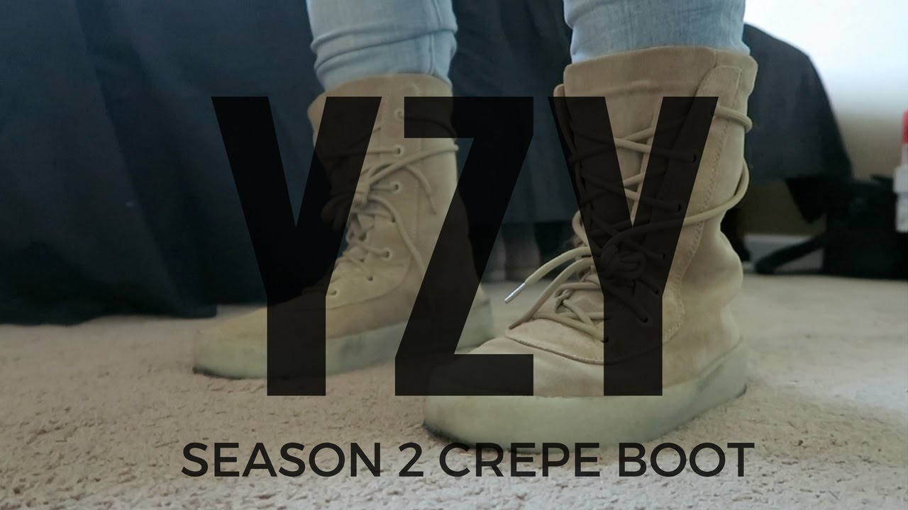 c679771188a64 Video YEEZY SEASON 2 CREPE BOOT FOR CHEAP!!!