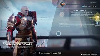 Destiny 2 Talk to Zavala Tower Unlock Leviathan Raid Access