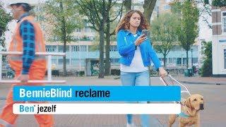 Afgeleide hond in campagne 'BennieBlind'