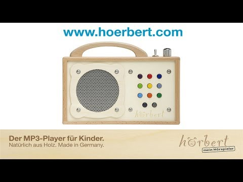 h rbert kinder mp3 player ab 2 jahren mit abschaltautomatik greenstories. Black Bedroom Furniture Sets. Home Design Ideas