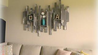 60 + Creative WOOD Wall Decoration Ideas 2017   Amazing Wall Decor Ideas