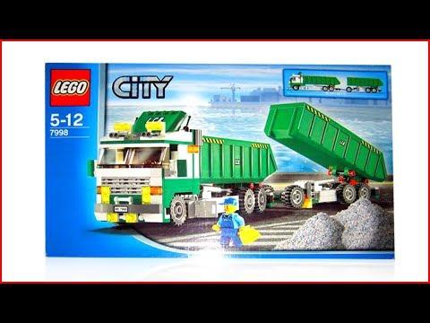 LEGO  CITY 7998 Heavy Hauler Construction Toy UNBOXING