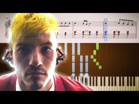 CUT MY LIP (Twenty One Pilots) - Piano Tutorial + SHEETS