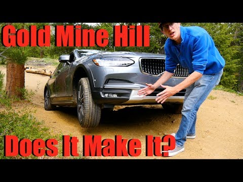Is This The First Car to Make It To The Top of Gold Mine Hill?