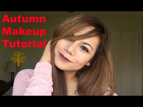 Easy AutumnFall Makeup Tutorial - ELLAsDaily