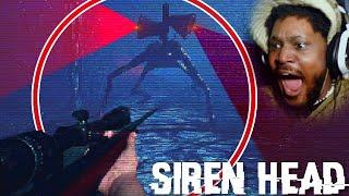 SIREN HEAD CRAWLS FASTER THAN HE RUNS (BEST Siren Head Game)