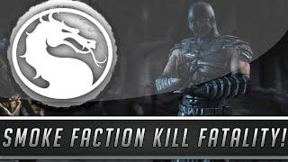 Mortal Kombat X: Smoke Faction Kill Fatality - Smoke Cameo Appearance Finisher! (Mortal Kombat 10)