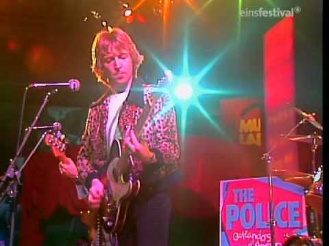 "The Police 1979 live at Musikladen (1) - ""Hole In My Life"""