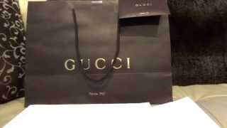 UNBOXING Gucci Beanies Knit Hat with Web Detail in Black size M