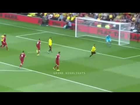 Liverpool vs Watford Premier League  Fecha 1 Goles y Resumen