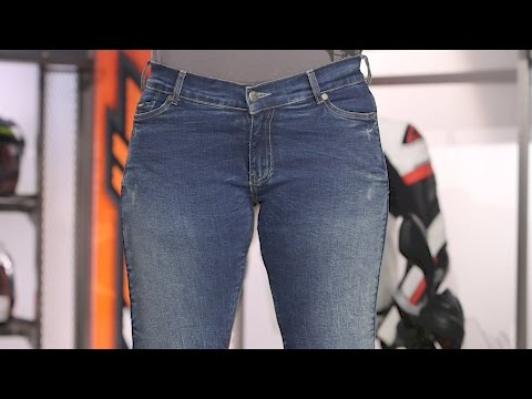 Bull-it Women's SR6 Straight Jeans Review at RevZilla.com