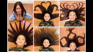 HAIR ART With Janet And Kate