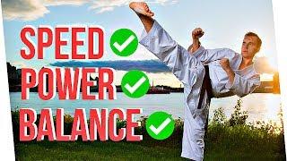 3 KARATE KICK SECRETS | Speed, Power & Balance — Jesse Enkamp