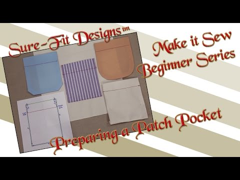 Download Tutorial 21 Beginning Sewing Series Make It Sew – How To Sew Pockets By Sure-Fit Designs™ HD Mp4 3GP Video and MP3