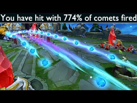 當Vandiril發現 全球流彗星雨 會怎樣玩?!