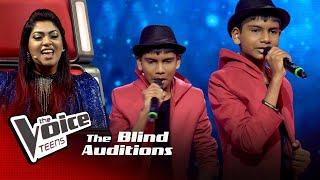 Adeesha Kavinga   Perfect   Blind Auditions   The Voice Teens Sri Lanka