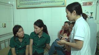 Hơn 50 công nhân may nhập viện nghi ngộ độc thực phẩm ở Nghệ An