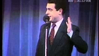 Пародия Грушевского на Горбачева и Ельцина - 1990 г.