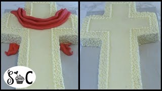 CROSS CAKE Tutorial - Sweetwater Cakes