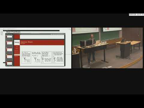 Lecture 3.5 - JDBC, Multitier Architecture