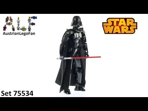 Vidéo LEGO Star Wars 75534 : Dark Vador (Buildable Figures)