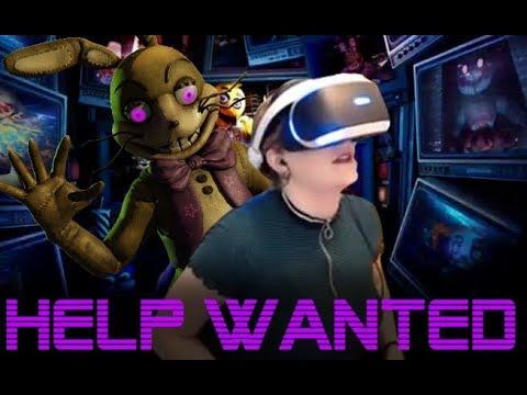 100% Completing FNaF Help Wanted VR