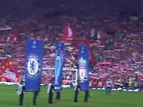 You'll never walk alone! Liverpool - Chelsea CLsemi final 07