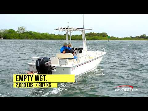 Boston Whaler 190 Montauk video