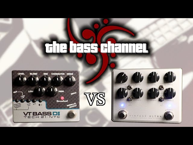 Tech 21 VT Bass DI vs. Darkglass Vintage Ultra