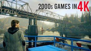 4Kでの10FINEST2000年代のビデオゲームグラフィックス