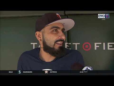 An afternoon chat with Twins' electric reliever Sergio Romo