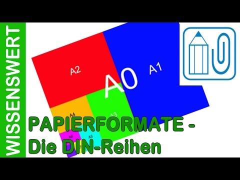 Folge 2   Papierformate I   DIN
