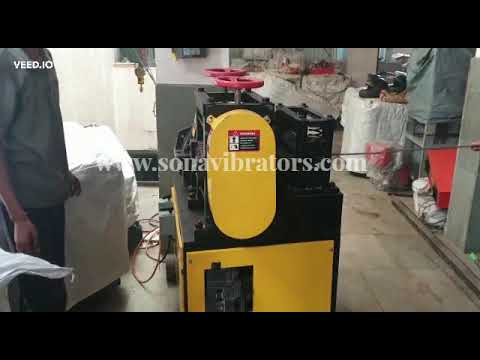 GX6-14 Rebar Scrap Straightening Machine 12mm