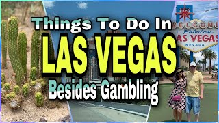 What is to do in las vegas besides gambling