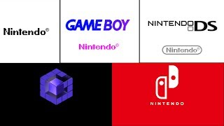 Every Nintendo Startup Screen (NES, N64, Gamecube, Wii U, Switch, Gameboy, GBC,GBA DS, 3DS)