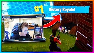 6 YouTubers First Wins In Fortnite: Battle Royale! (Ninja, Tfue, Ali A , Myth, Nickeh30)