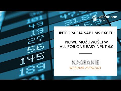 Integracja SAP i MS Excel. Nowe możliwości w SNP EasyInput 4.0