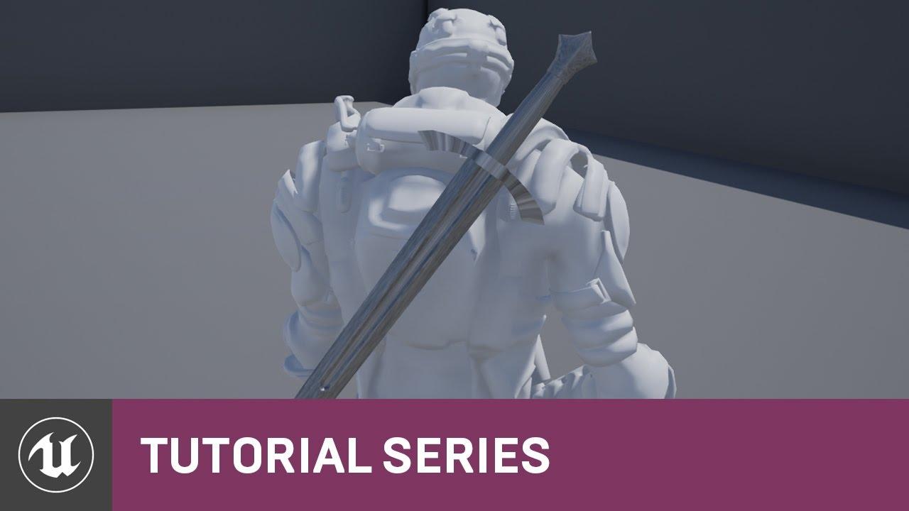 Skeleton Assets: Using Sockets   04   v4.8 Tutorial Series   Unreal Engine