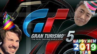 Gran Turismo 5 - Streaming Into The New Year   I-C All Golds