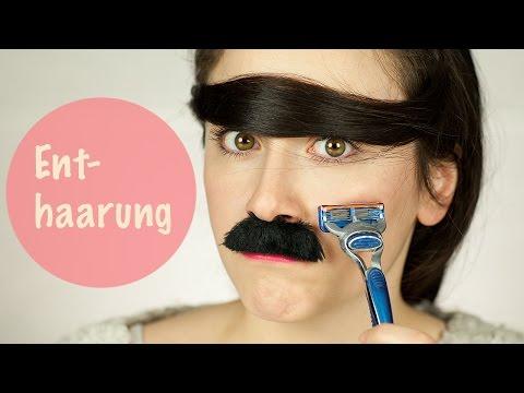 Die Maske für die Verstärkung des Haares mit den Hefen