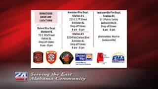 United Way of East Alabama Hosts Supply Drive