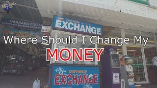 Money Exchange Rates In Phuket - Riding Around To Find The Best Deals on Currency Exchange rates