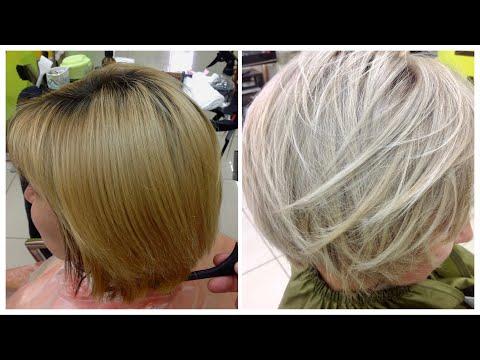 Из рыжего в пепельный блонд // From Brassy Ginger Blonde to Ash Blonde: Ash Blonde Hair Tutorial