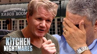Gordon Finds Out Things Are A LOT More Complicated at Sam's Kabob Room   Kitchen Nightmares Supercut