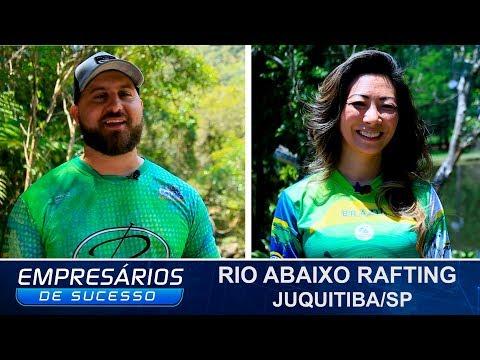 RIO ABAIXO RAFTING & AVENTURA, JUQUITIBA/SP, EMPRESÁRIOS DE SUCESSO