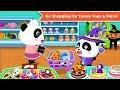 Baby Panda 39 s Supermarket Kids Grocery Shopping Babyb
