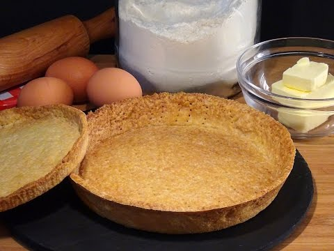 Receta Base para tartas y tartaletas de masa quebrada dulce - Recetas de cocina, tutorial