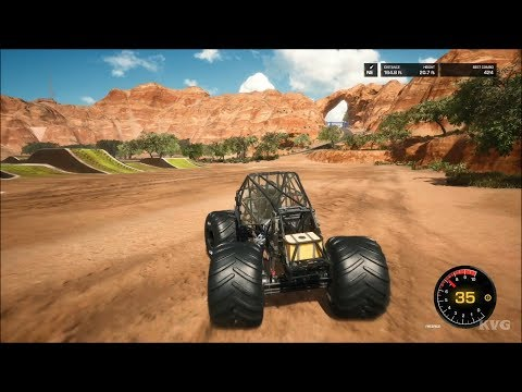 Monster Jam Steel Titans Gameplay (PS4 HD) [1080p60FPS]